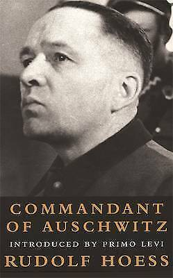 Commandant of Auschwitz by Rudolf Hoess (Paperback, 2000)