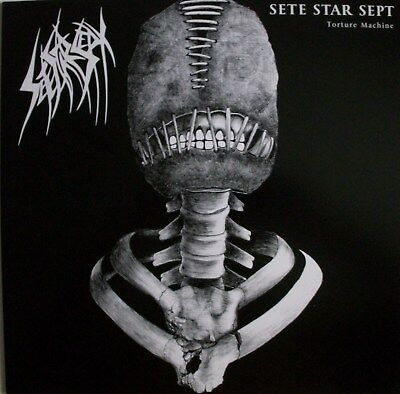 7 MINUTES OF NAUSEA / SETE STAR SEPT spl LP meat shits,a.c.,psycho,arsedestroyer