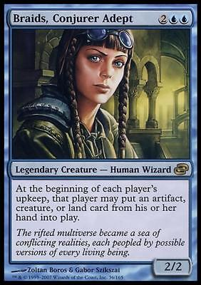 1x BRAIDS, CONJURER ADEPT - Rare - Planar Chaos - MTG - NM - Magic the Gathering