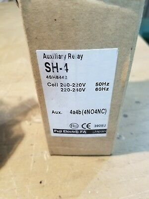 Fuji Electric SZ-A22 Contact Block SH-4 Contactor Auxillary Relay 1E-1548-C7