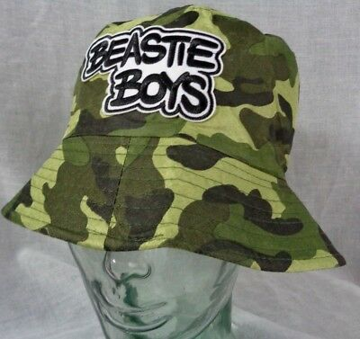 beastie boys hat fishing cap outdoor festival hip hop rap mca ad rock mike d