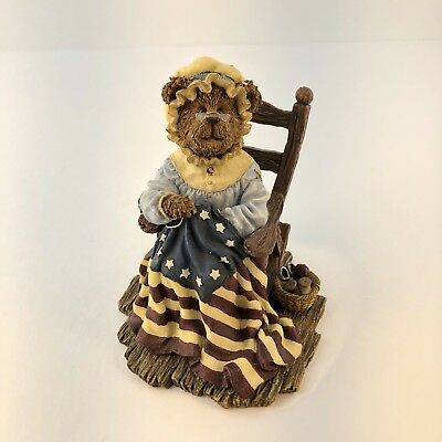 Betsy Rossbeary A stich in time boyds bears&friends The Bearstone collection New