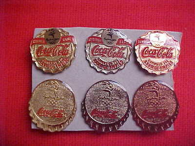 5 sets Olympic 2000 summer games pins