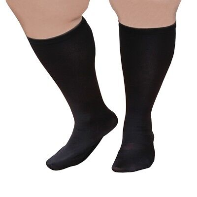 "Extra Wide Moderate Compression Knee Highs (Over 5'7"") - 15-20 mmHg"