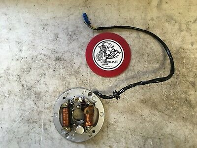 1979 Yamaha Mx100 Stator Ignition Points Lighting Oem
