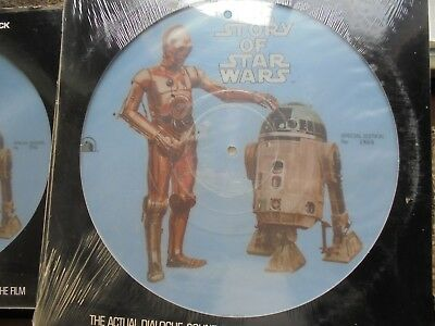 The Story Of Star Wars-12: PICTURE DISC SPECIAL EDITION NO.1868 FACTORY SEALED