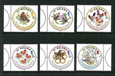 St Helena: 2006 Christmas ('The Twelve Days of Christmas') SG1005-1010 MNH BE033