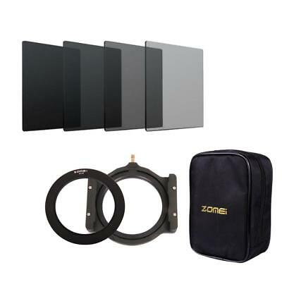 150mm ND2 4 8 16 Square Filter +77mm Ring+Holder+Storage Bag for Cokin Z-Pro