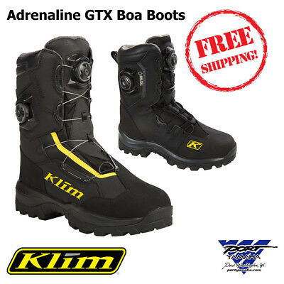 New Klim Adrenaline GTX BOA Gore-Tex Mens Snowmobile Boot