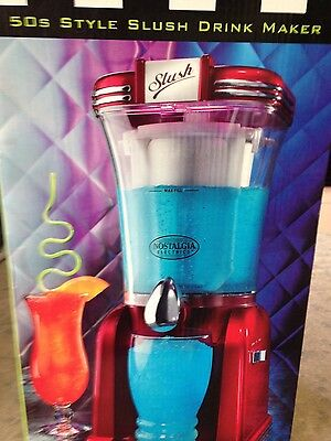 50s Retro Style Slush Drink  Maker