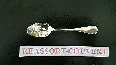Spoon Coffee Expresso Villeroy Christofle 13.5 Antiques Cm Silvered Metal 2403 16