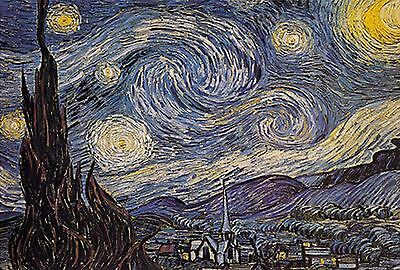 1000 Pieces Jigsaw Puzzle - Starry Night by Vincent Van Gogh [USA SELLER]