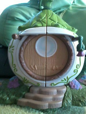 Disney TINKER BELL'S Tea Kettle Cottage Great Fairy Rescue Tink's Pixie Home