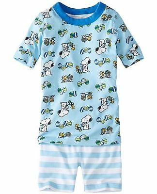 150 Discontinued Hanna Andersson Peanuts Snoopy Spring Easter Pajamas/PJs, NWT