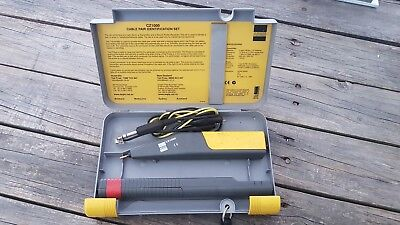 AEGIS CZ1000 F SET Tracer Cable Toner Generator Phone Telephone RJ TELSTRA NBN