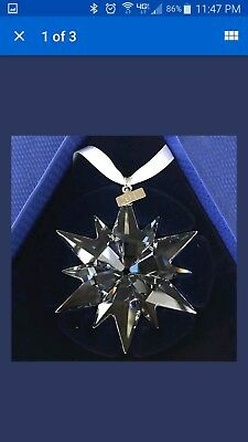 New 2017 Swarovski Crystal Snowflake Christmas Ornament Annual Large 5257589