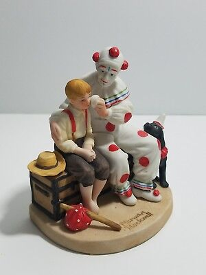 "Norman Rockwell ""The Runaway"" Museum Figurine Collection 1984"