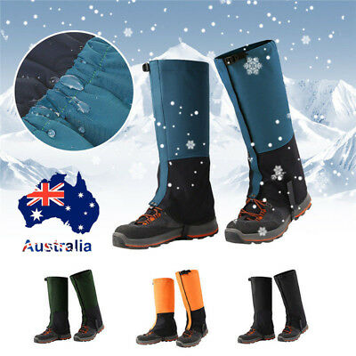 Outdoor warm Climbing Hiking Waterproof Sandproof Leg Cover Boot Snake Gaiters