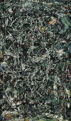 """30''x51"""" Jackson Pollock Full Fathom Five HD Print on Canvas Large Wall Picture"""