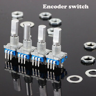 5pcs/bag 12mm Key Switch Electronic Components Rotary Encoder Push Button