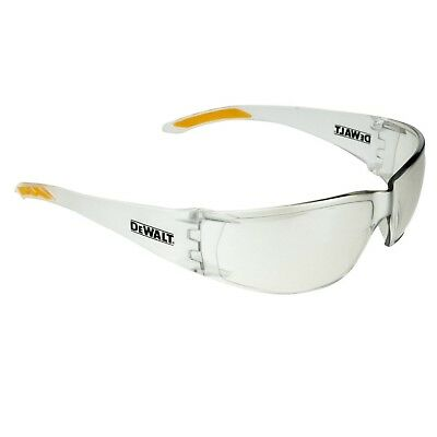 DeWalt ROTEX SAFETY GLASSES Lightweight Frame, Molded Nosepiece,Flexible Temples