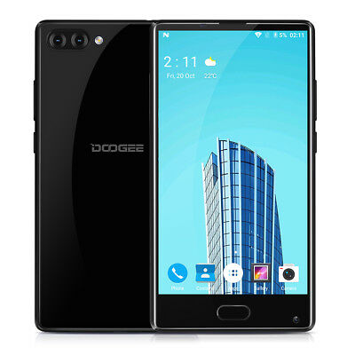 5.5'' DOOGEE MIX 4Go+64Go Téléphone Android 7.0 4G Smartphone 8-Core Touch ID FR
