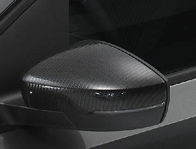 Genuine Volkswagen Polo Carbon Fibre Exterior Mirror Covers - 6R0072530Z57
