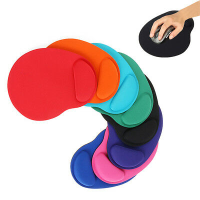 Comfortable Soft Mouse Pad Wrist Support Mice Mat Non Slip for PC Laptop