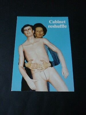 Margaret Thatcher postcard, Cabinet reshuffle, George Blair, Mind's Eye