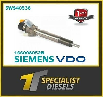 Reconditioned 1.5 Dci Fuel Injector Siemens Renault Clio Laguna Megane 5WS40536