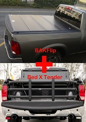 Dodge Ram 1500 Pickup Laderaumabdeckung Bakflip MX4 und Bed X Tender Manager