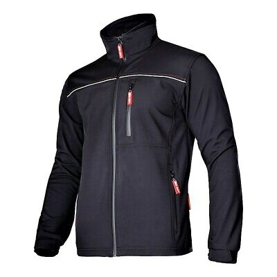 NEW! Work Jacket Lahti Pro lpks1 Softshell Black Softshell Jacket Waterproof