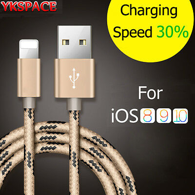 1M 2M 3M 2A Charger USB Data Cable For iPhone 6 6s 7 8 Plus X XS MAX Lightning