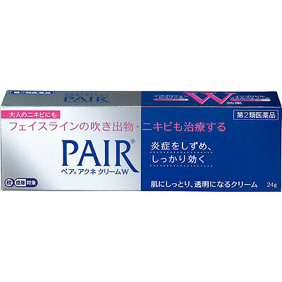Lion PAIR ACNE 14g / 24g Medicated Treatment Cream for Acne Care Japan