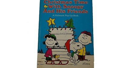 Christmas Time with Snoopy Vintage Pop Up Book