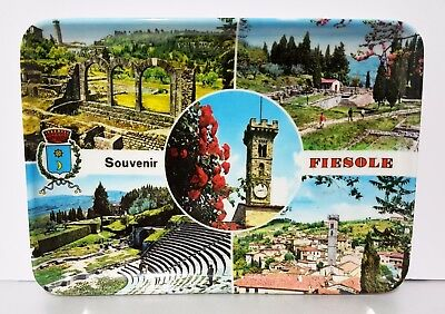 Souvenir Melamine Plastic Dish / Plate / Tray - ITALY FIRENZE FLORENCE FIESOLE
