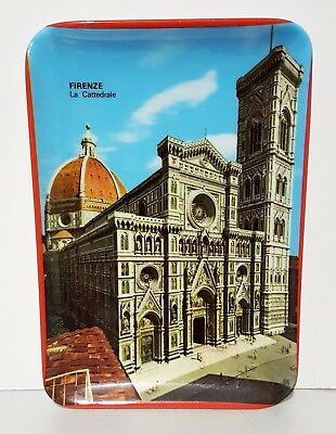 Souvenir Melamine Plastic Dish / Plate / Tray - ITALY FIRENZE FLORENCE CATHEDRAL