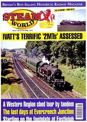 STEAM WORLD MAGAZINE #346 - IVATT'S TERRIFIC `2MTs' ASSESSED (NEW BACK ISSUE)
