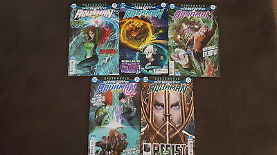 "DC Comics Rebirth: Aquaman ""Underworld"" 25-30 #25 26 27 28 29 30 (2016)"