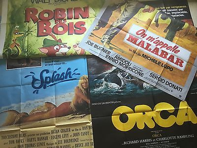 Affiches de Cinéma 120x160 (French Poster) Disney Hill Spencer Bashung Norris