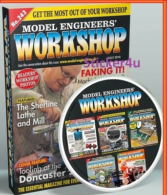Model Engineer Workshop Magazine Issues 001 to 163 PDF Issues On DVD from UK