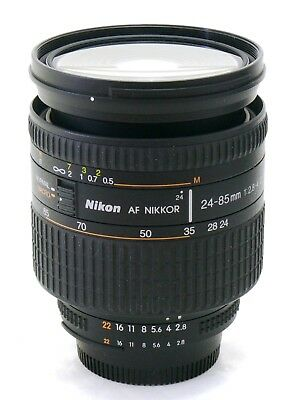Nikon 24-85mm f/2.8-4 D Nikkor AF IF Aspherical zoom lens MINT-