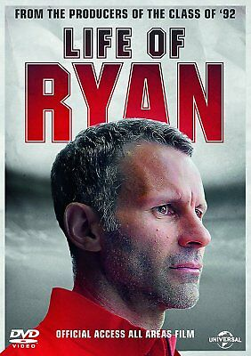 Life Of Ryan Ryan Giggs Manchester United DVD New & Sealed FREE SHIPPING