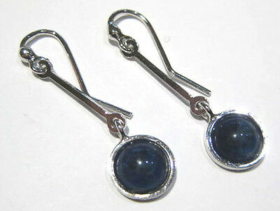 orecchini sodalite - sodalite earrings  silver 925%