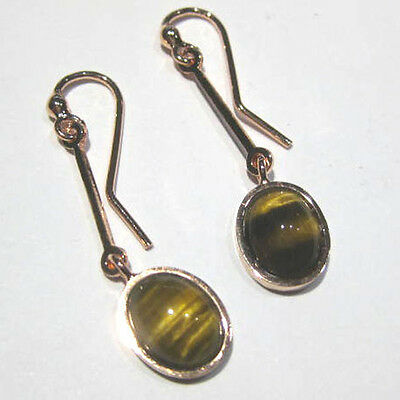 orecchini occhio di tigre - Tiger Eye earrings