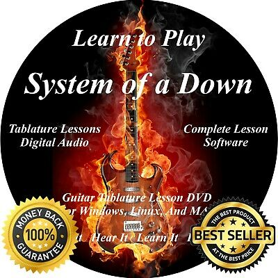 System Of A Down Guitar & Bass TABS Lesson CD + Backing Tracks + BONUS!