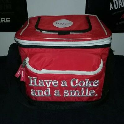 Vintage Have a Coke and a smile Cooler