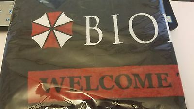 Resident Evil Biohazard the Real Welcome To Raccoon City Umbrella Towel NEW