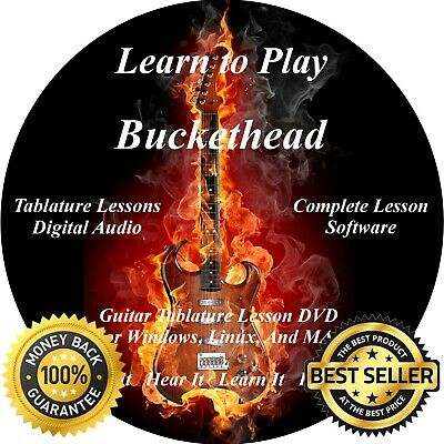 Buckethead 614 Guitar TABS Lesson CD + 40 Backing Tracks + BONUS!