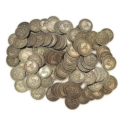 Charlie Chaplin Coins Slot Tokens Lot of 116 Coins